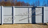 Ворота распашные для дачи купить в серпухове автоматические ворота установить цена